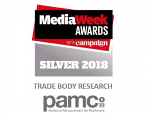 PAMCo wins Silver at the Media Week Awards 2018!