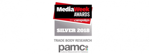 Media Week Awards Silver PAMCo2