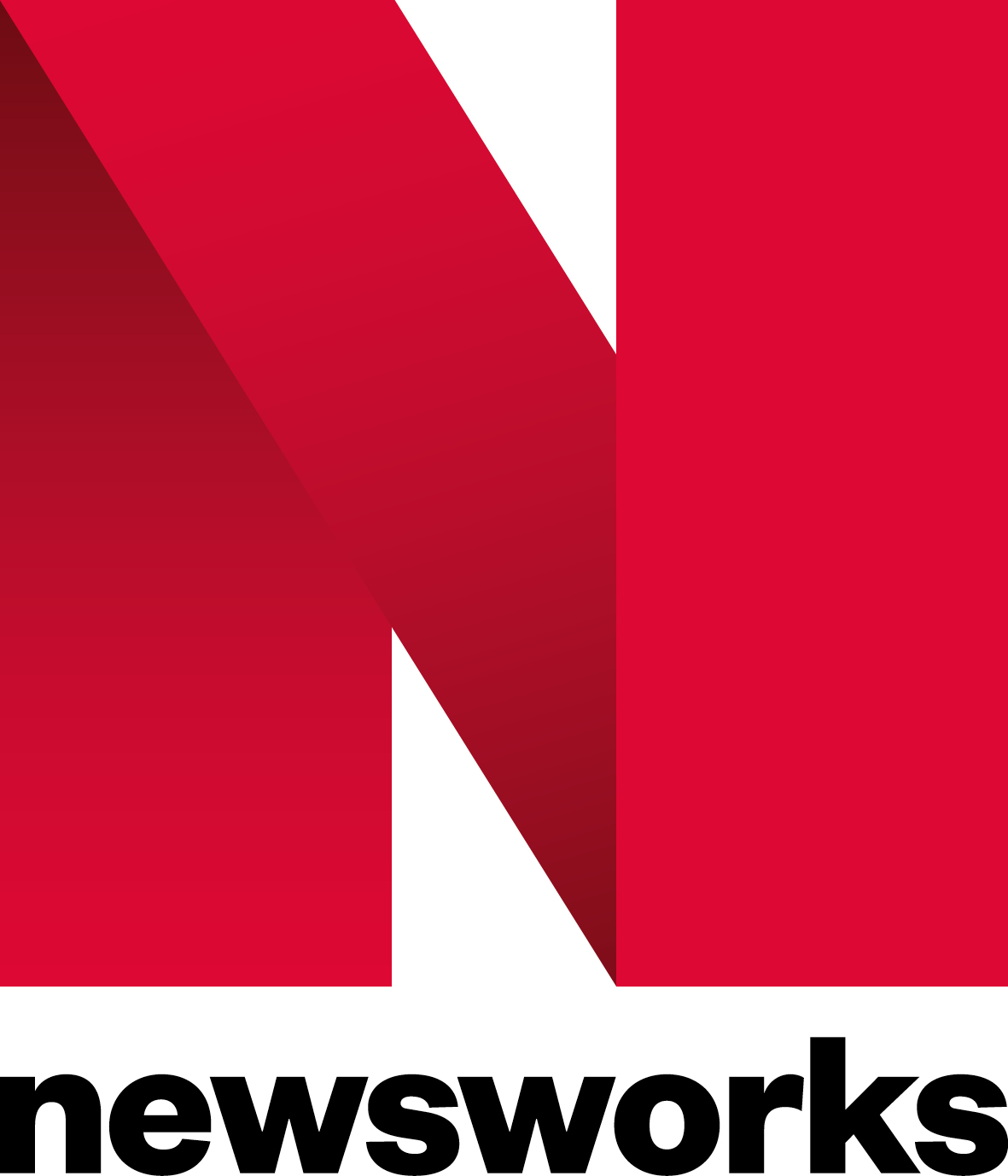 Newsworks Main Stacked Red black